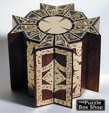 Movable Hellraiser Puzzle Box Cube