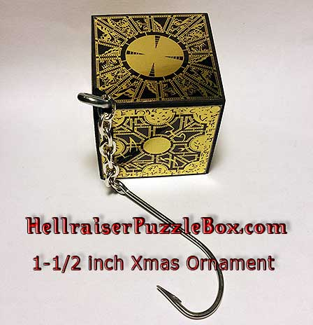 Hellraiser Puzzle Box Christmas Ornament