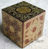 Mahogany and Brass Hellraiser Puzzle Box